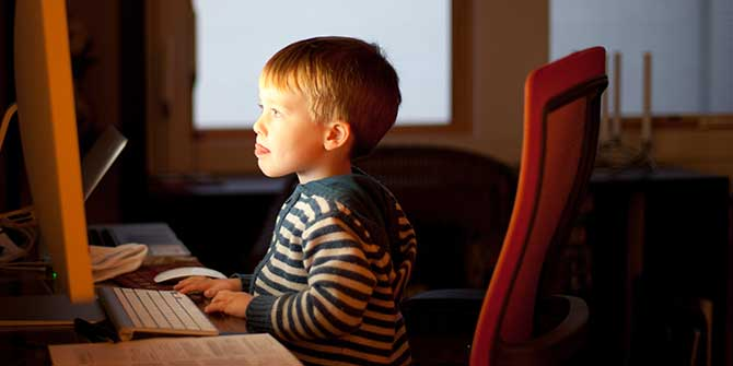Header Image for Children's Online Risks Diversifying; Some Self-Created