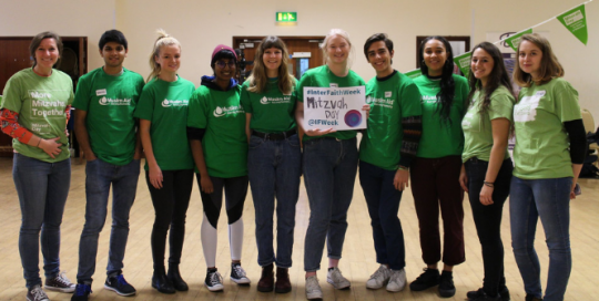 Guest blog by Arya Gerard: Mitzvah Day Volunteering