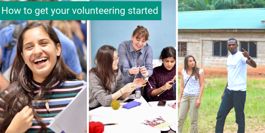 How to get your volunteering started