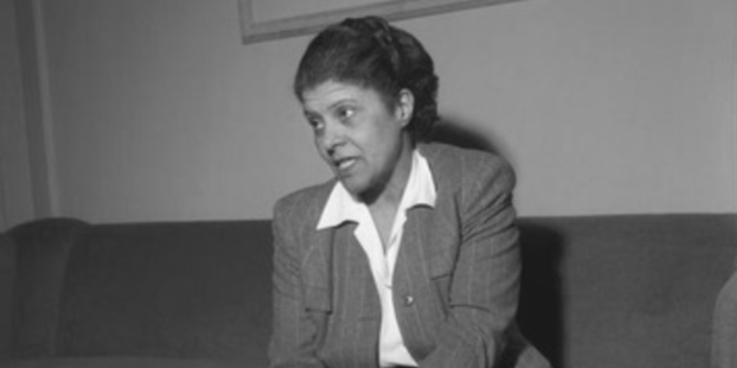Eslanda Robeson – acting, activism, Africa and LSE